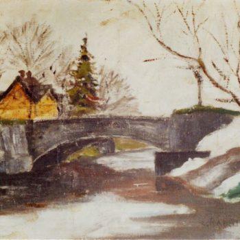 Teoksen nimi: Vantaan silta 1953