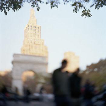 Teoksen nimi: Washington Square Park, 2009