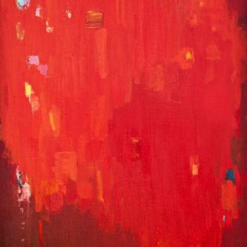 Teoksen nimi: Maalaus, 120x85cm, öljy kankaalle, 2005