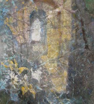 Teoksen nimi: Frasiskuksen puutarha  2008