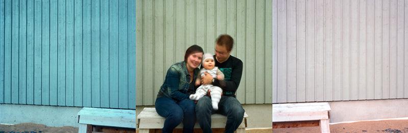 Anni, Pekka and Jonne.2011