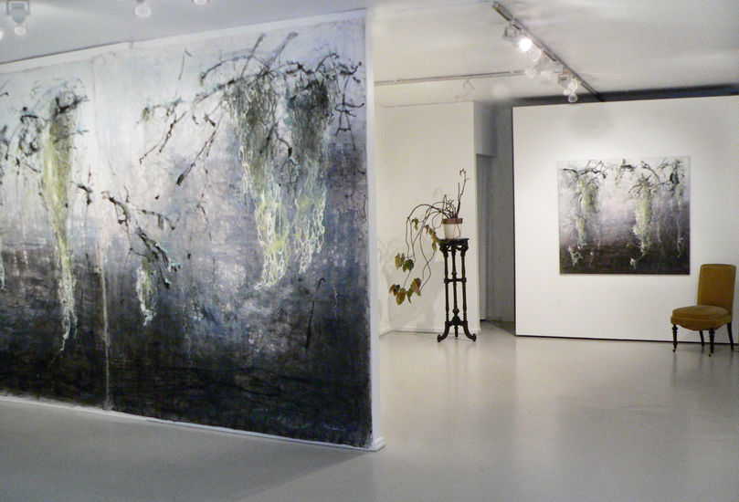 Joella-gallerian näyttely, yleiskuva