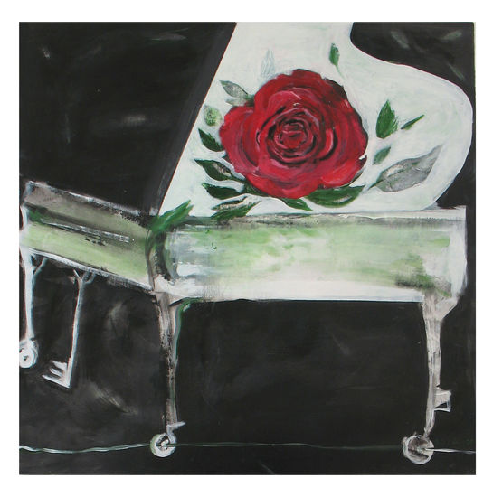Ruusu. Rose. 73 x 73.