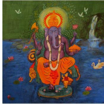 Teoksen nimi: Nalle Huh Ganeshan apulaisena