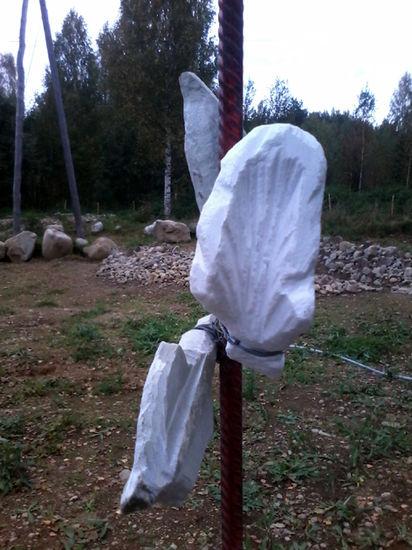 Kukkivalla KiviPellolla,Terttu Repo-Tarma / yksityiskohta teoksesta Elämänlanka,2016