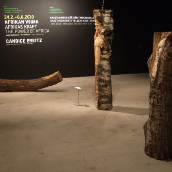 Teoksen nimi: Kunnianosoitus  puulle Irokoolle