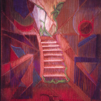 Teoksen nimi: Valoa portaissa