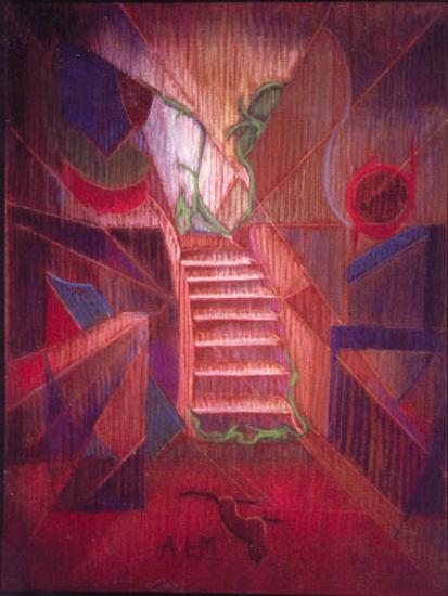 Valoa portaissa