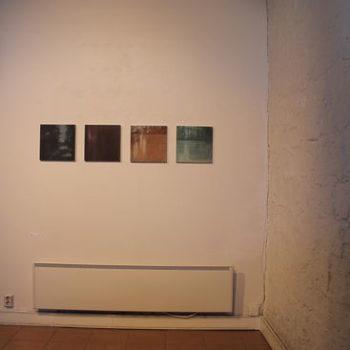 "Teoksen nimi: Ripustuskuva Poriginal galleria 2013 ""Valo"""
