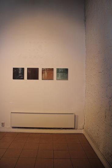"Ripustuskuva Poriginal galleria 2013 ""Valo"""