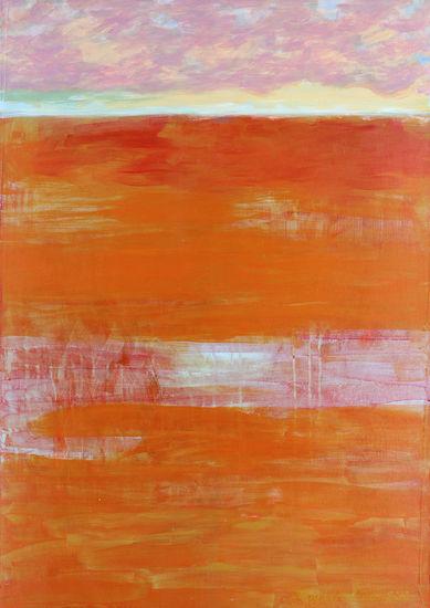 Nel Fra (Välissä/Between), 2010, akryyli/acrylic, 100 x 70 cm