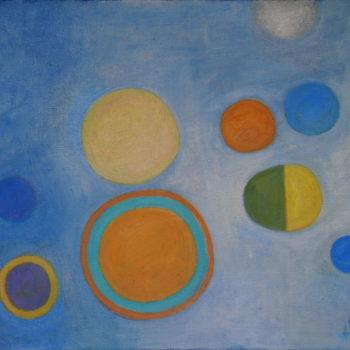 Teoksen nimi: Sunnuntaimaalaus/Sunday painting