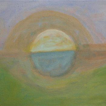 Teoksen nimi: Varhainen kesäaamu/Early summermorning