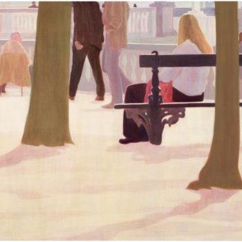 Teoksen nimi: Jardin du Luxembourg sarjasta