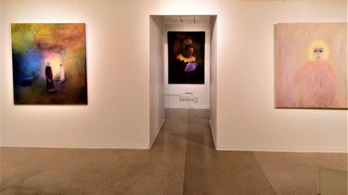 Näyttelynäkymä 1 Pääsiäinen Johann Sebastianin kanssa