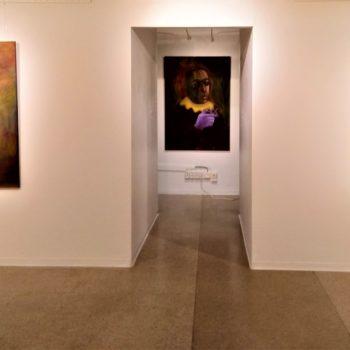 Teoksen nimi: Näyttelynäkymä 1 Pääsiäinen Johann Sebastianin kanssa
