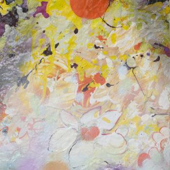 Name of the work: Orange Sunrise