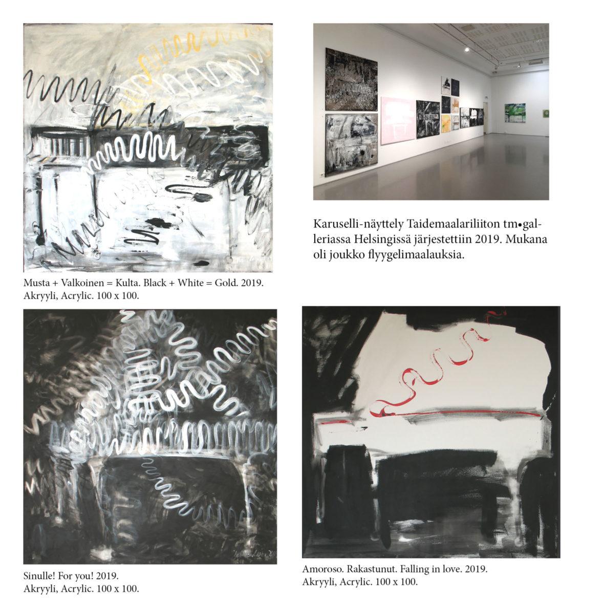 Karuselli-näyttely tm.galleria 2019  /  Exhibition tm.gallery 2019.
