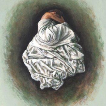 Teoksen nimi: Lohdun pesä / The nest of comfort