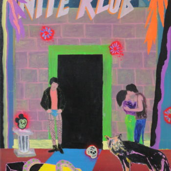"Name of the work: "" Nite klub """