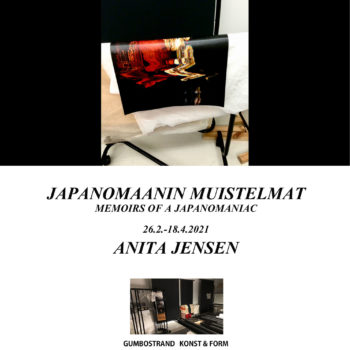 Teoksen nimi: Memoirs of a Japanomaniac; Invitation to the exhibition 2021