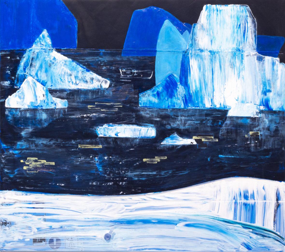 Jäätiköt sulaa