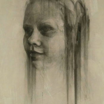 Teoksen nimi: Untitled teenager