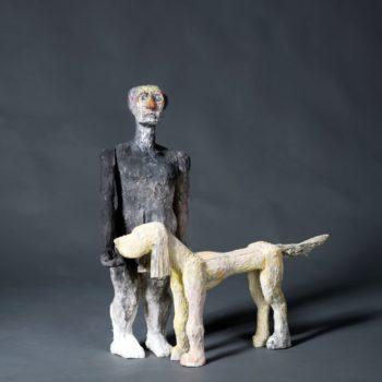 Name of the work: Black&white ja Koira