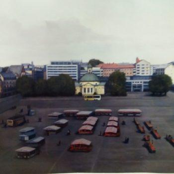 Teoksen nimi: Turun kauppatori 2017