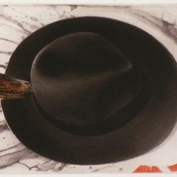 Teoksen nimi: Maalarin hattu 1 / The Painter's Hat 1