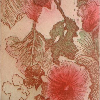Teoksen nimi: Tapettikukka / Wallpaper Flower