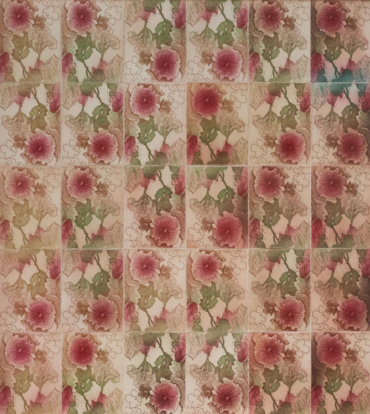 Sarjasta Tapettikukkia / From the series Wallpaper Flowers