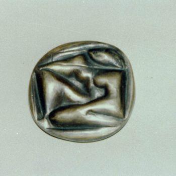Teoksen nimi: Sisäiset universumit. Fidem:n kansainvälisessä näyttelyssä  Tukholmassa 1985