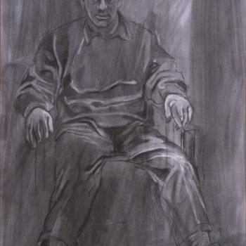 Teoksen nimi: Paavo istumassa