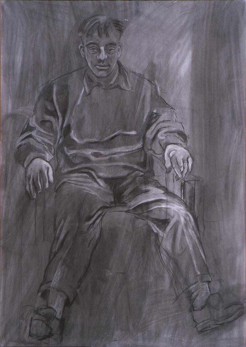 Paavo istumassa