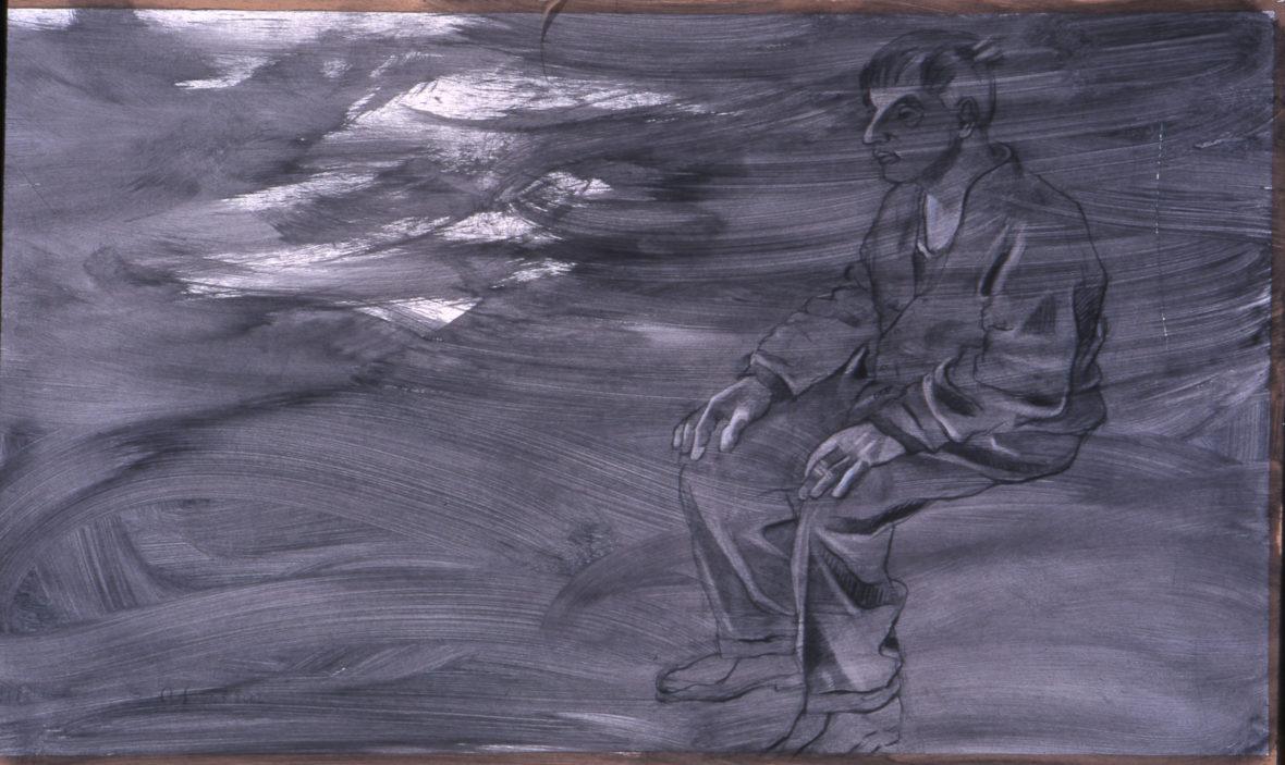 Rannalla istuja sarjasta Paavo