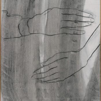 Teoksen nimi: Sarjasta kädet II