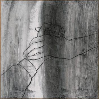 Teoksen nimi: Sarjasta kädet IV