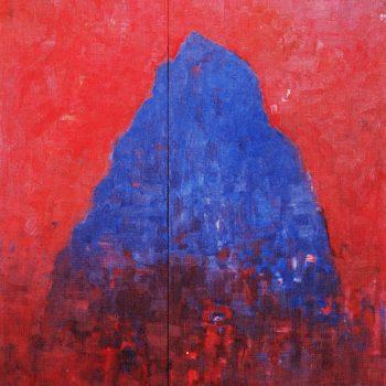 Teoksen nimi: Sininen vuori