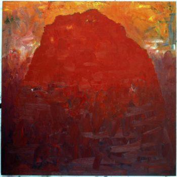 Teoksen nimi: Punainen vuori