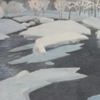 Teoksen nimi: lumijoki