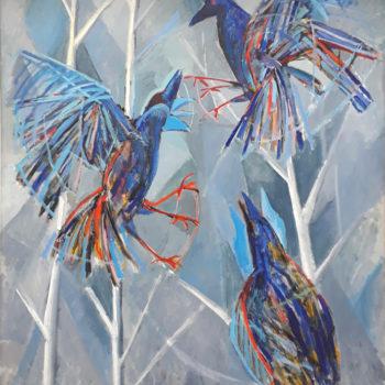 Teoksen nimi: Siniset Linnut
