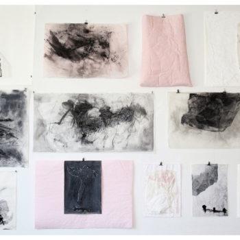 Teoksen nimi: Vie en rose et noir & Fractures | Murtumia