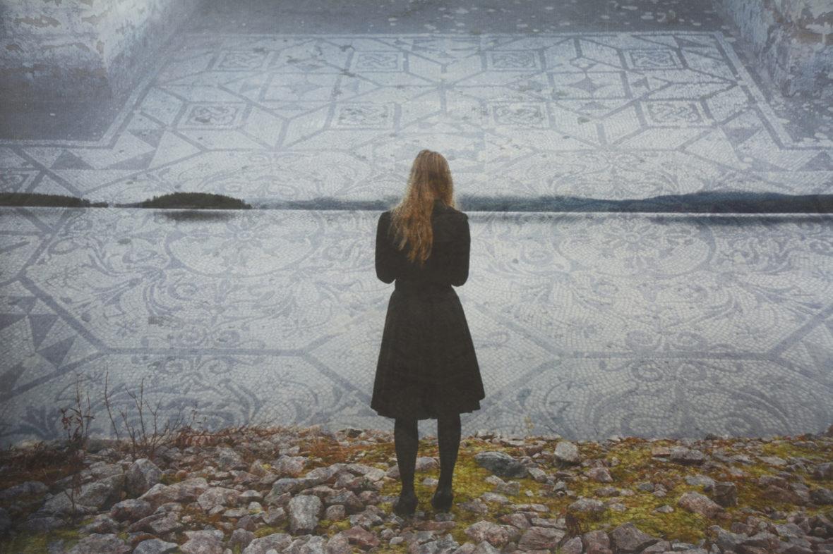 Livian Talo, mosaiikkityttö
