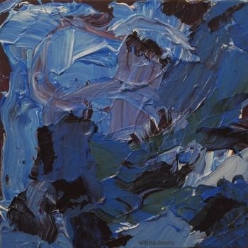 Teoksen nimi: Himalayan Blue Poppies