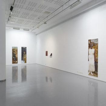 Teoksen nimi: Kitin Väinö ja Jaakko Hellin poika tm-galleria 2012
