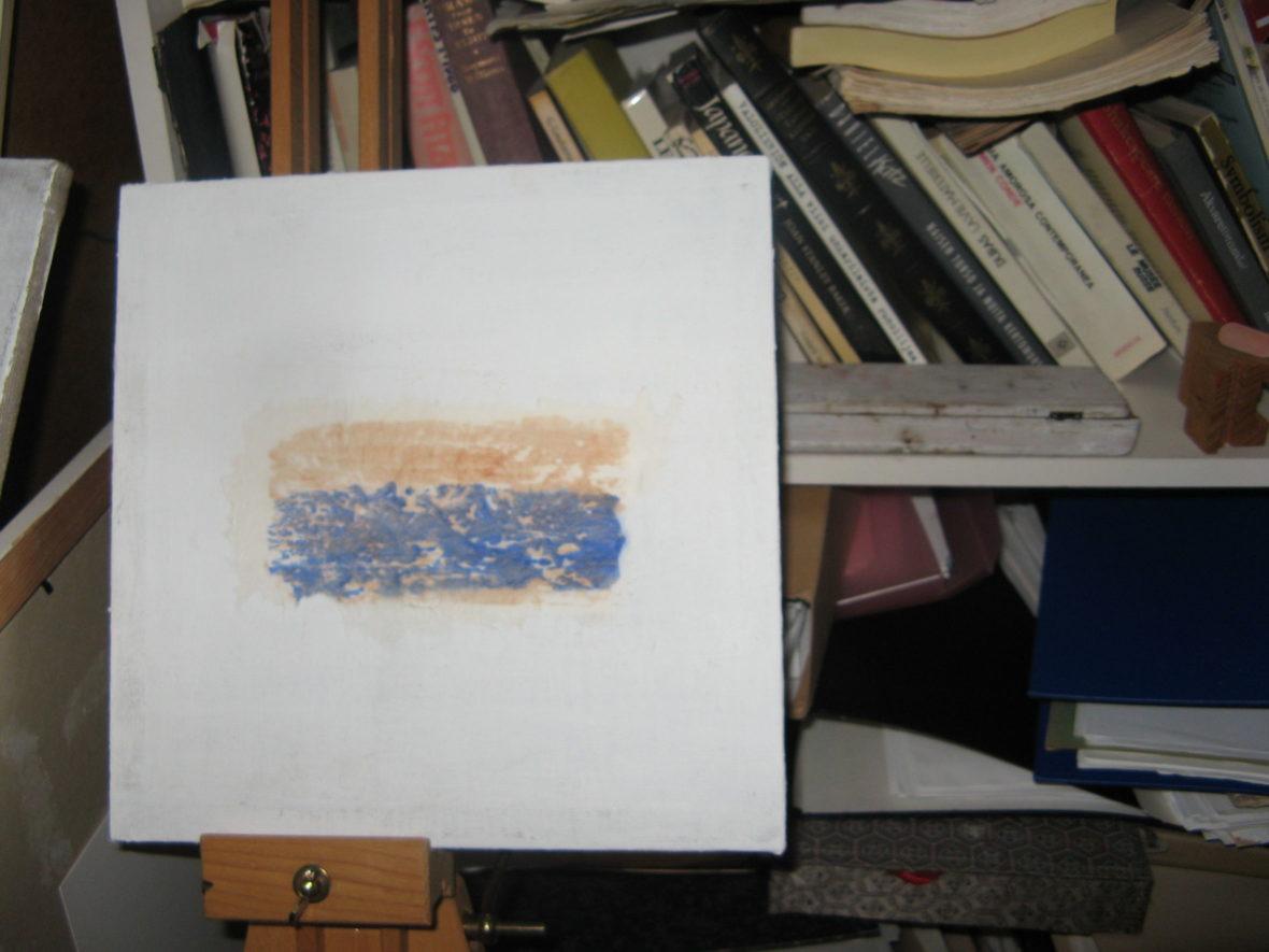Puupiirros, sarjasta fragmentteja, (Isoäidin tarina 1)