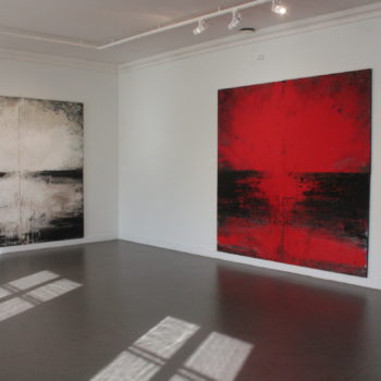 """Teoksen nimi: """"By Office"""", Rauman taidemuseo 2009"""