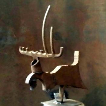 Teoksen nimi: Poro – Reindeer