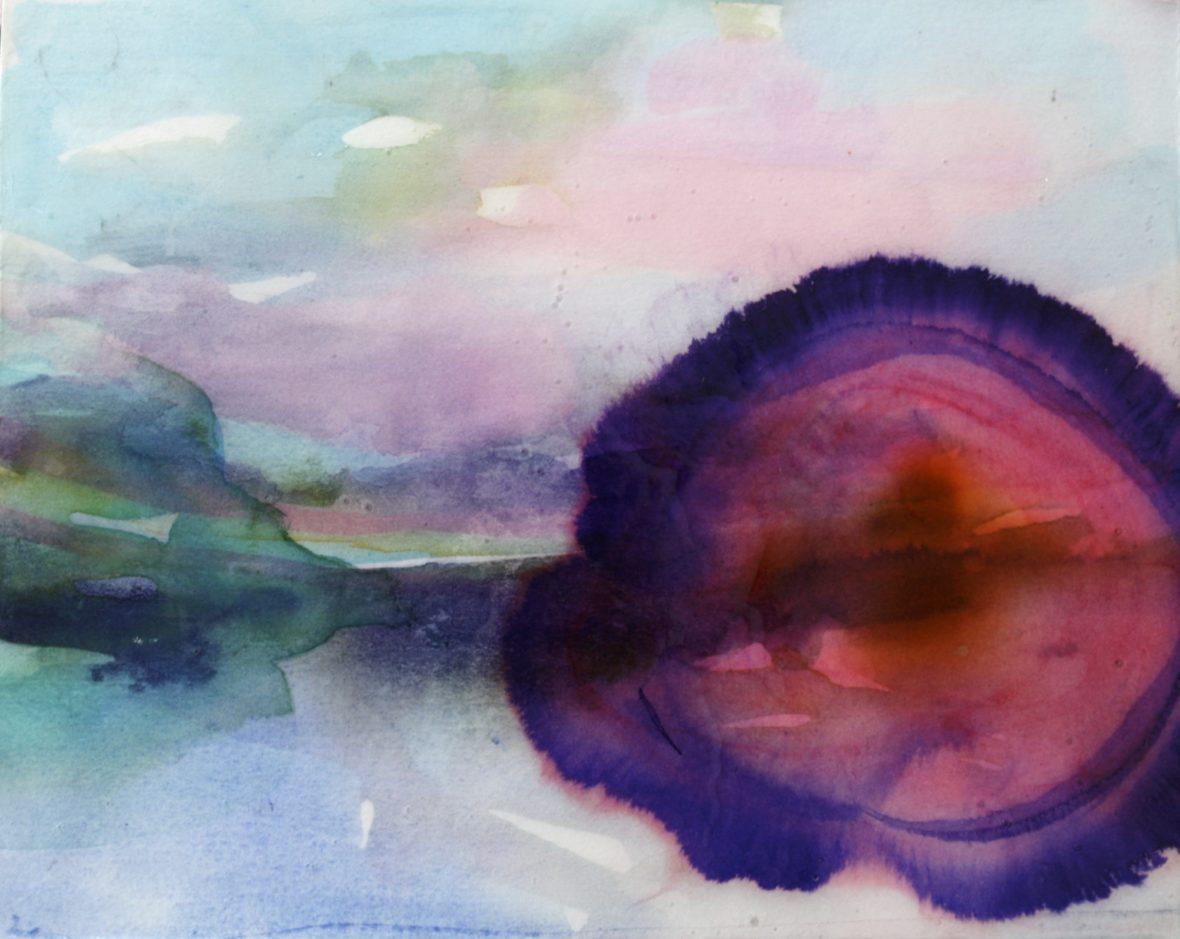 MAISEMAN AVAUTUVA LUOMI, akvarellisarja, 2010-